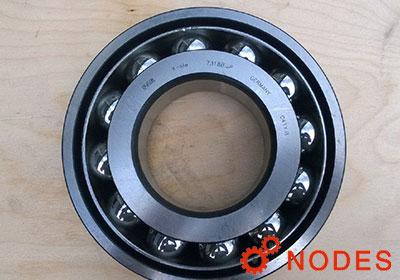 Metric Normal Clearance Open 130mm ID 3200rpm Maximum Rotational Speed 41500lbf Dynamic Load Capacity, FAG 7226B-MP-UA Angular Contact Ball Bearing Brass Cage 46500lbf Static Load Capacity 230mm OD 40/° Contact Angle 40mm Width Single Row