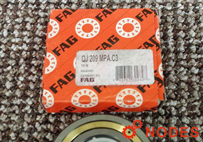 FAG QJ209-XL-MPA-C3 bearings | Dimensions: 45x85x19mm