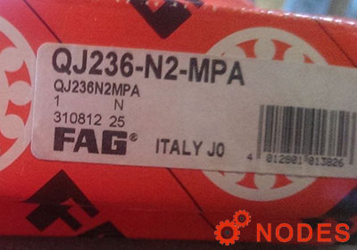 FAG QJ236-N2-MPA bearings | Dimensions: 180x320x52mm