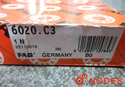 FAG 6020-C3 bearings
