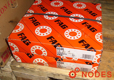 FAG 6026 Deep groove ball bearings