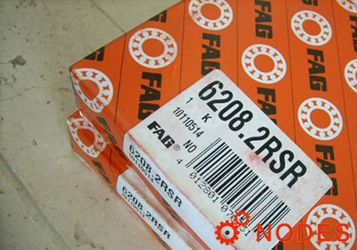 FAG 6208-2RSR Deep groove ball bearings