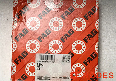 FAG 6312-C3 bearings | 60x130x31mm