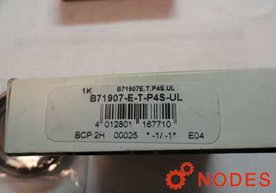 FAG B71907-E-T-P4S spindle bearings | 35x55x10mm