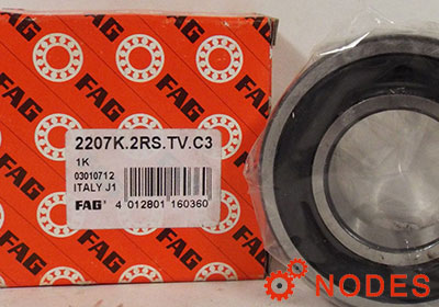 FAG 2207-K-2RS-TVH-C3 bearings