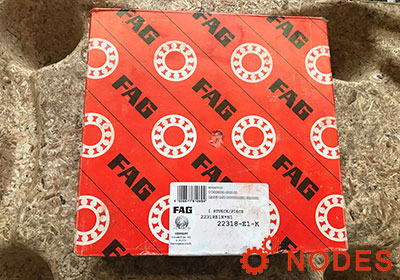 FAG 22318-E1-XL-K Spherical roller bearings | 90x190x64mm