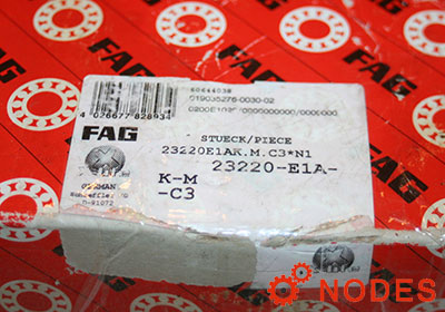 FAG 23220-E1A-XL-K-M-C3 Spherical roller bearings | 100x180x