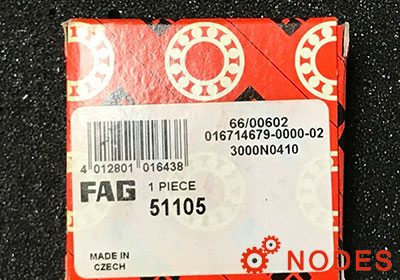 FAG 51105 thrust bearings | Dim