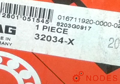 FAG 32034-X-XL tapered roller bearings