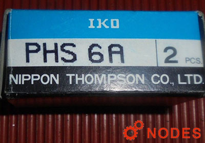 IKO PHS6 rod ends | d:6,d2:18,l4:39mm
