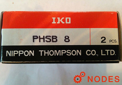 IKO PHSB8 rod ends | d:12.7,D:33.32,L:70.64mm