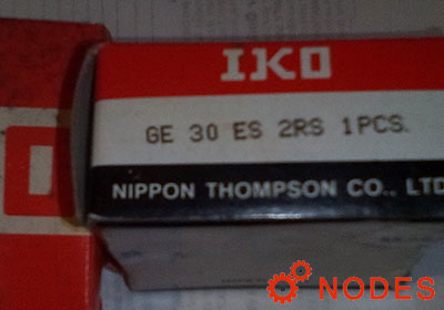 IKO GE30ES-2RS spherical plain bearings | 30x47x22mm