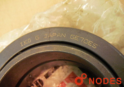 IKO GE70ES spherical plain bearings | 70x105x49mm