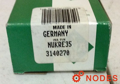 INA NUKRE35 Stud type track rollers
