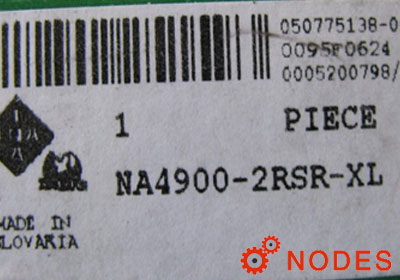INA NA4900-2RSR-XL needle bearings