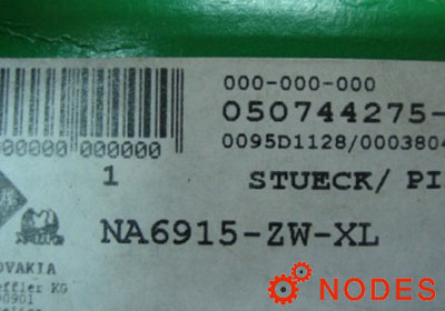 INA NA6915-ZW-XL needle bearings