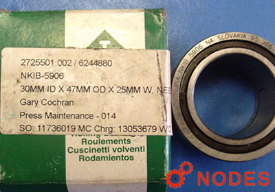 INA NKIB5906-XL combined needle bearings | 30x47x25mm