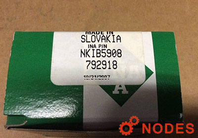 INA NKIB5908-XL combined needle bearings | 40x62x34mm