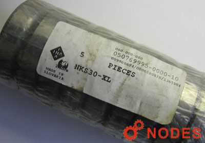 INA NKS30-XL Needle Bearing 30 mm x 45 mm x 22 mm Width  XL= Extended-Life