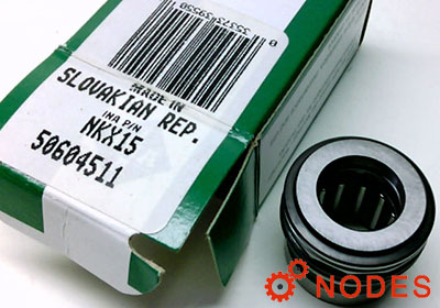 INA NKX15-XL combined needle bearings | 15x24x23mm
