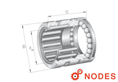 INA NX25-XL Bearing