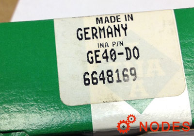 INA GE40-DO plain bearings | 40x62x28mm