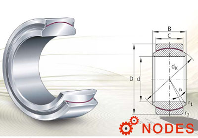 INA Spherical plain bearings, maintenance-free