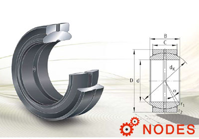 INA spherical plain bearings requiring maintenance