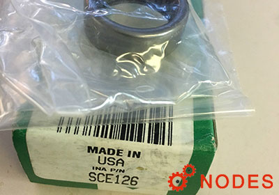 INA SCE126 shell needle bearings, inch sizes