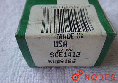 INA SCE1412 shell needle bearings, inch sizes