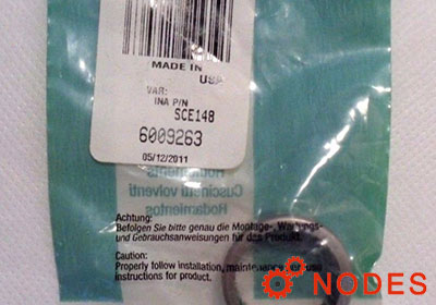 INA SCE148 shell needle bearings, inch sizes