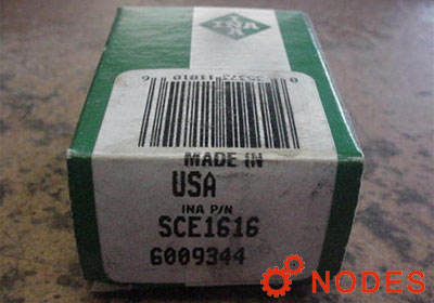 INA SCE1616 shell needle bearings, inch sizes