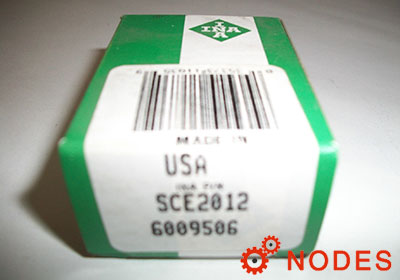 INA SCE2012 shell needle bearings, inch sizes