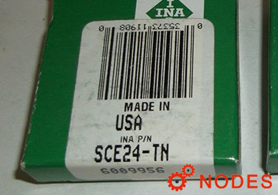 INA SCE24-TN shell needle bearings, inch sizes
