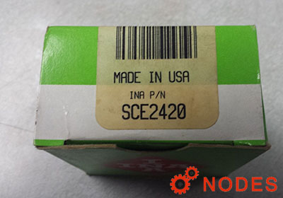 INA SCE2420 shell needle bearings, inch sizes