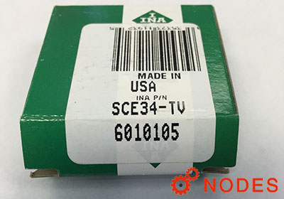INA SCE34-TN shell needle bearings, inch sizes