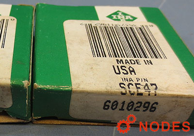INA SCE47 shell needle bearings, inch sizes
