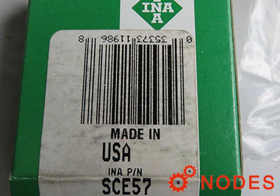 INA SCE57 shell needle bearings, inch sizes