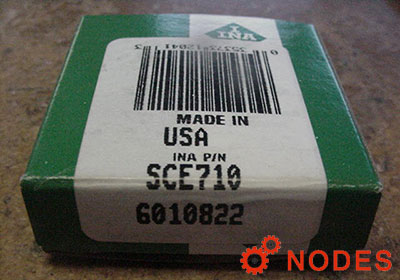 INA SCE710 shell needle bearings, inch sizes