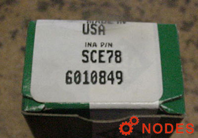 INA SCE78 shell needle bearings, inch sizes