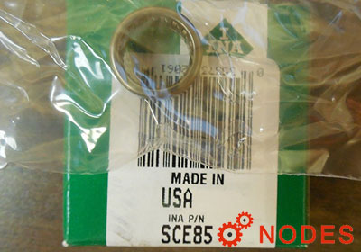 INA SCE85 shell needle bearings, inch sizes