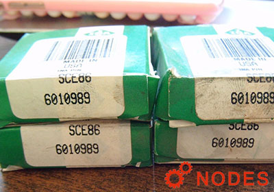 INA SCE86 shell needle bearings, inch sizes