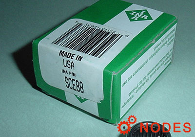 INA SCE88 shell needle bearings, inch sizes