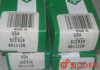 INA SCE910 shell needle bearings, inch sizes
