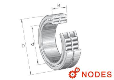 INA SL014830 roller bearings
