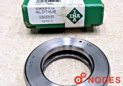 INA D17 thrust bearing | 38.1x65.888x15.875 mm