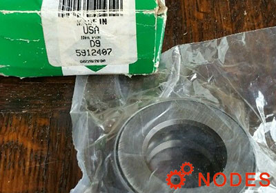 INA D9 thrust bearing | 25.4x50.013x15.875 mm