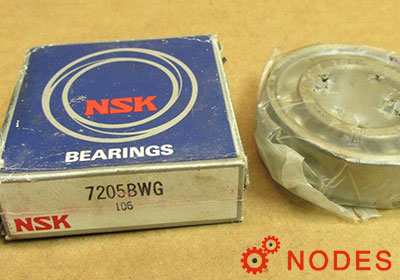 NSK 7205B Angular Contact Ball Bearings