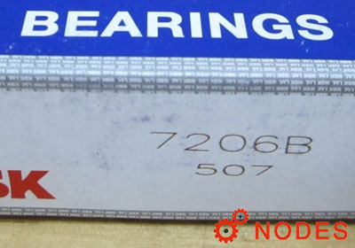 NSK 7206B Angular Contact Ball Bearings