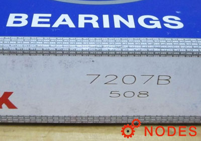 NSK 7207B Angular Contact Ball Bearings